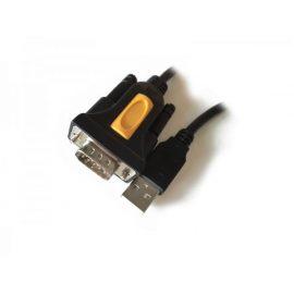 CAVO CONVERTITORE USB A SERIALE BK M/M 1.8MT ADJ