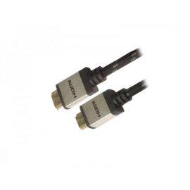 CAVO HDMI 2MT M/M PER 4K BK/SL NYLON/CONN. ALLUMINIO ADJ