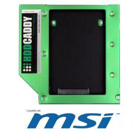 "CADDY MSI PER HDD/SSD DA 2,5"" SATA PER PC AIO E24-A615010-MF1"