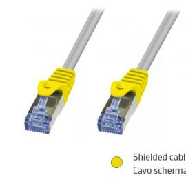 CAVO RETE FTP CAT.6 20MT SL SCHERMATO ADJ