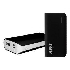 POWER BANK 5200MAH P/USB ZEUS BK C/CAVO MICROUSB5V/2/TORCIA/INDI ADJ