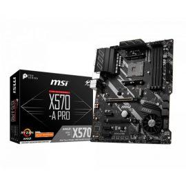 MB MSI X570-A PRO RYZEN 9 4D4 6S3 U3.1 GBLAN ATX