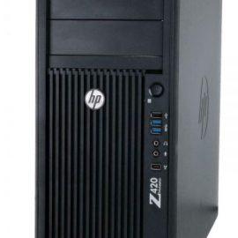 WKST REF E5-1620V2/8GB2/256GB-SSD Z420 DVRW QUADRO K2000 NO COA