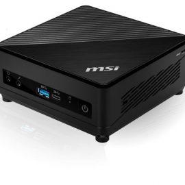 "PC MSI CUBI 5 I7-10510U NO HD/RAM 1,8 4C M.2+2,5"" 4U3 DP/H FD SILENT"