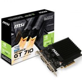 VGA MSI NVIDIA GT 710 2GD3H H2D EXT 2GB DDR3 1HDMI/2DVI