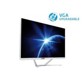 "AIO 27"" I5 8G 240G FD N/T NO ODD WH I5-9400 WIFI 4U3 VGA/HDMI/SPEAKER"