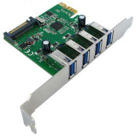 SCHEDA PCI-E USB 3.0 4 PORTE 5BIT/S VALUE