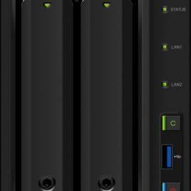 "NAS SYNOLOGY DS718+ X 2HD 3.5""/2.5"" QUADCORE 1.5GHZ RAM 2GB 2P LAN"