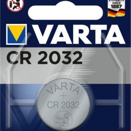 BATTERIA CR2032 LITIO 3V BOTTONE CONF.BLISTER 1PZ VARTA