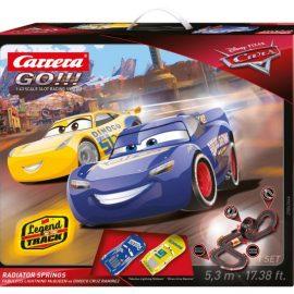 PISTA GO!! CAR 3 RADIATOR 5,3 METRI CARRERA SPRINGS