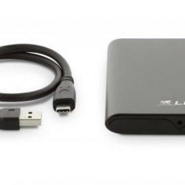 "BOX 2.5"" USB-C DATAMOBIL LMP TYPE C E ADATTATORE A USB-A"