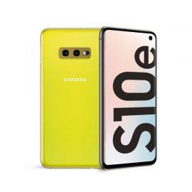 "SMARTPHONE SAMSUNG GALAXY S10E 5,8"" YELLOW 128GB+6GB DUAL SIM ITALIA"