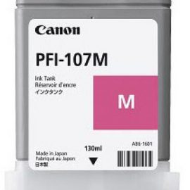 INK CANON PFI-107 MAGENTA SERBATOIO PER IPF 770