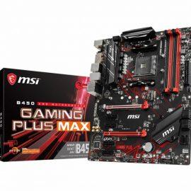 MB MSI B450 GAMING PLUS MAX AM4 RYZ 4D4 4S3 1M.2 6U3 PCIE GBLAN D/H