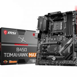 MB MSI B450 TOMAHAWK MAX AM4 RYZEN 4D4 6S3 1M.2 6U3 PCIE GBLAN D/H