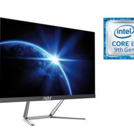 "AIO 24"" I5 8G 240G FD N/T NO ODD BK I5-9400 WIFI 4U3 VGA/HDMI/SPEAKER"
