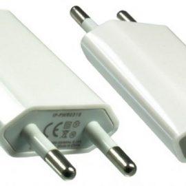 ALIMENT. AC-USB BIANCO IPHONE IPOD