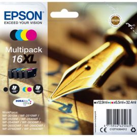INK EPSON 16XL MULTIPACK NERO+CLR DURABRITE ULTRA WORKFORCE WF2010