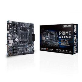 MB ASUS A320M-K AM4 RYZEN 2D4 4S3 1M.2 6U3 PCIE GBLAN H/V