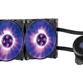 VENTOLA MASTER LIQUID ML240L RGB LGA 775>2066 AMD AM4>FM1 210W