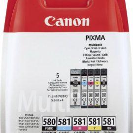 INK CANON PGI-580/CLI-581 MULTIPACK NERO/CIANO/GIALLO/MAGENTA