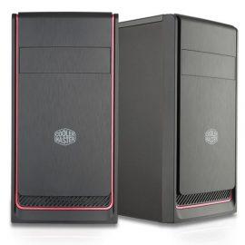 CASE MINI-TOWER NO PSU MASTERBOX E300L 2USB3 ODD BLACK/RED