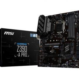 MB MSI Z390 A-PRO S1151 8XXX/9XXX 4D4 6S3 M.2 4U3 H/D