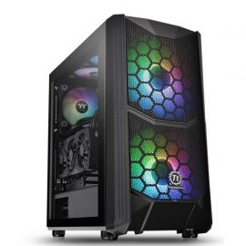 CASE MID-TOWER NO PSU COMMANDER C35 TG ARGB USB3*2 HDAUDIO VETRO TEMP