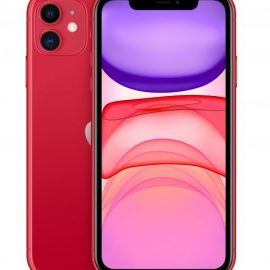 "IPHONE 11 64GB RED 6.1"" (CON ALIMENTATORE E CUFFIE)"