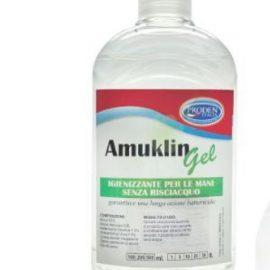 GEL IGIENIZZANTE MANI AMUKLIN 1LT ALCOHOL 63% 1 LITRO